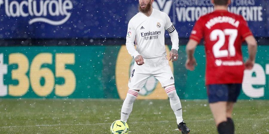 Paris Saint-Germain Siap Bujuk Sergio Ramos dengan Gaji Tinggi