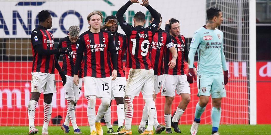 Hasil Lengkap dan Klasemen Liga Italia - AC Milan Lebarkan Jarak, Atalanta Depak Posisi Juventus
