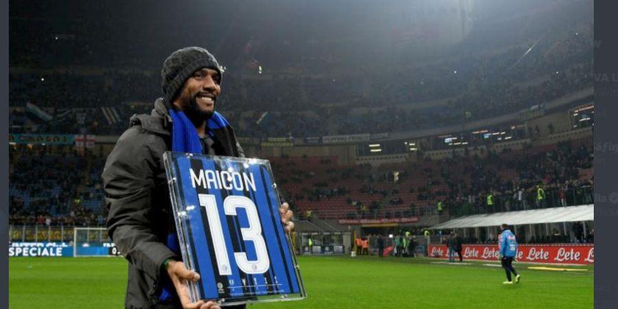 Maicon Turun Gunung, dari Legenda Treble Inter Milan ke Divisi 4 Liga Italia dan Main dengan Tukang Servis AC