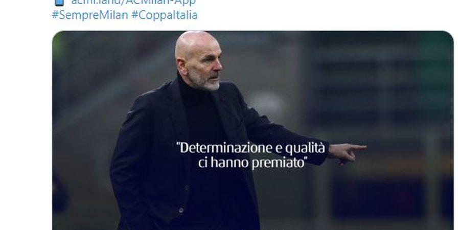 Mengaku Puas, Pelatih Stefano Pioli Puji Sikap AC Milan Ini