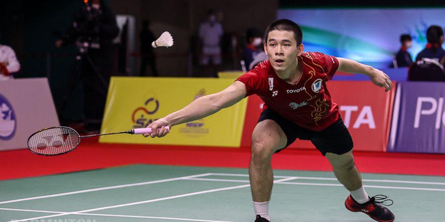 Thailand Open I 2021 - Curhat Bocah Ajaib Thailand Usai Dilibas Anthony Sinisuka Ginting