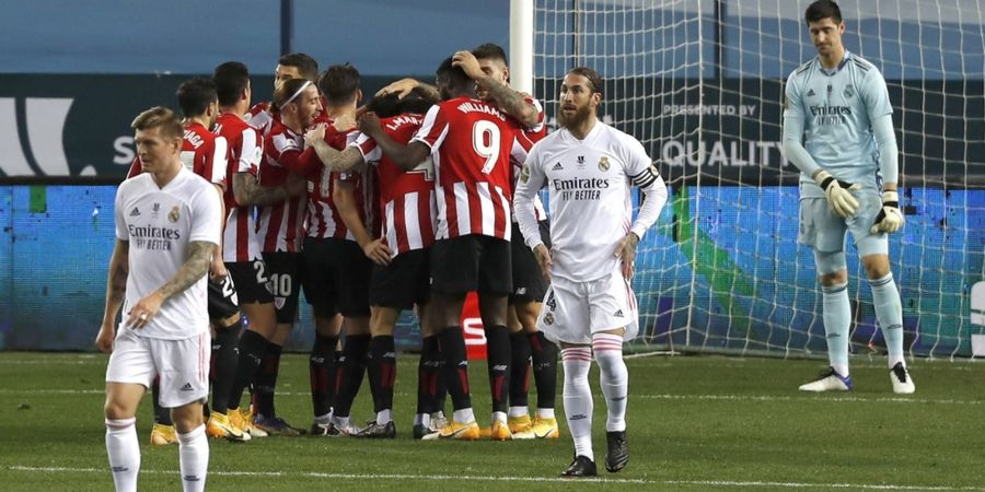 Tampil Buruk Sejak Awal, Real Madrid Keok Lawan Athletic Bilbao