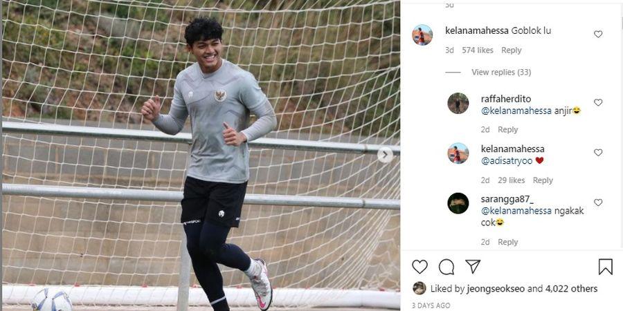 Bak Petir di Siang Bolong, Komentar 'Kasar' Kelana Mahessa Kagetkan Kiper Timnas U-19 Indonesia