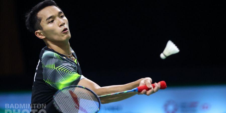 Hasil Bulu Tangkis Olimpiade Tokyo 2020 - Jonatan Christie Raih Kemenangan