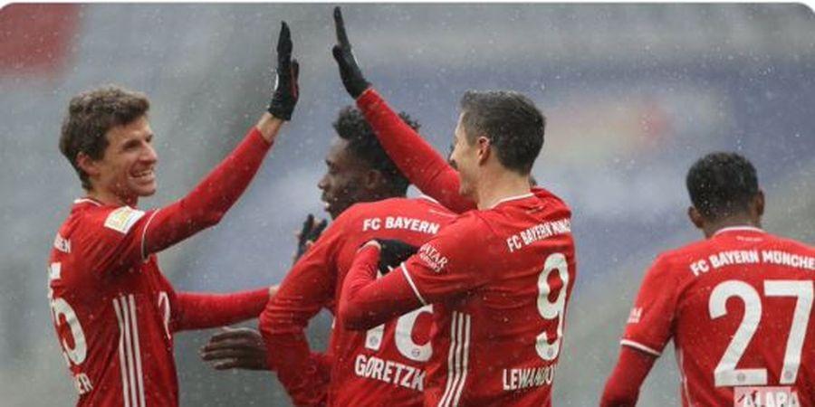 Hasil Bundesliga - Lewandowski Cetak Sejarah Berkat Gol Menit 7, Bayern Sejuk di Puncak