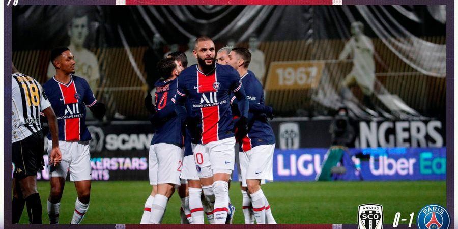 Hasil Liga Prancis - Kylian Mbappe Torehkan Catatan Bobrok 3 Tahun Lalu, PSG Ungguli Angers Walau Tanpa Pochettino