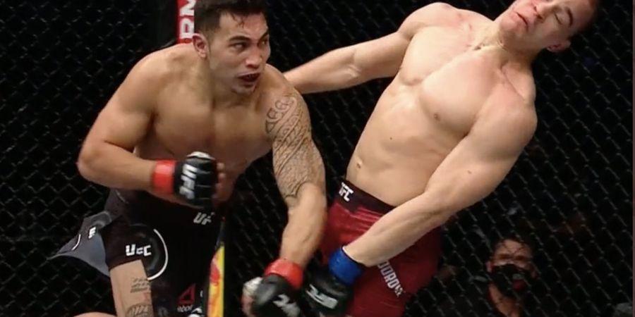 UFC Fight Island 7 - Muncul Monster KO Ronde 1, Lawan Dipukul sampai Pelindung Gigi Copot