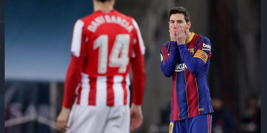 Wajah Dihajar Lionel Messi, Striker Athletic Bilbao Ogah Baper