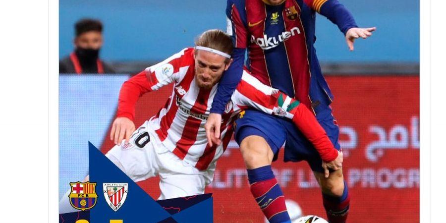 Pemicu Kartu Merah Messi, Gara-gara Pemain Barcelona Malas dan Tak Becus?