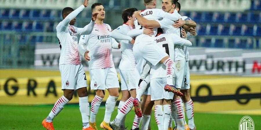 AC Milan Unggul 3 Poin atas Inter Milan, Belum Sah Juara Paruh Musim!