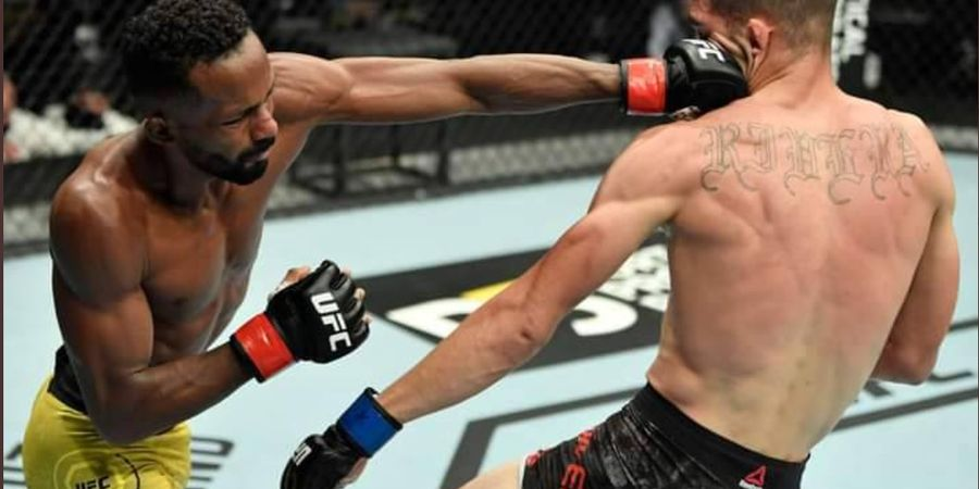 UFC Fight Island 8 - Belum Seganas Kakak, Adik Dewa Perang Hanya Menang Angka