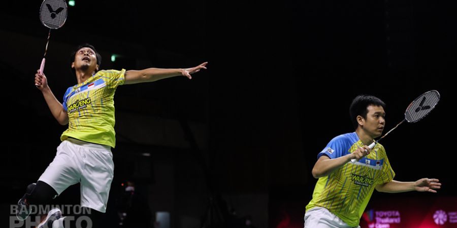 Thailand Open II 2021 - Ahsan/Hendra Sebut Energi Lee/Wang Lebih Tinggi