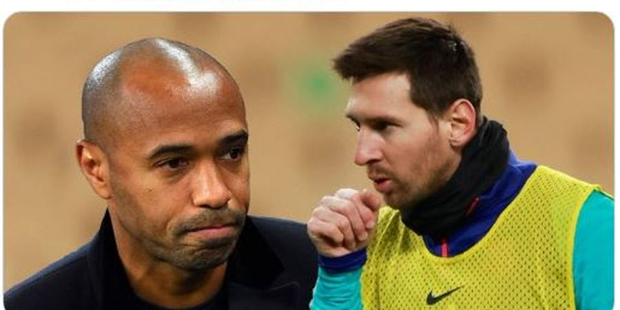 Lionel Messi Tak Berani Tatap Thierry Henry Saat Jumpa Pertama Kali, Ini Alasannya