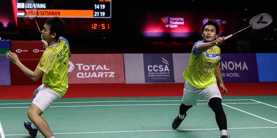Hasil Lengkap Thailand Open II 2021 - Wakil Indonesia Kandas, Denmark-Korea Amankan Gelar