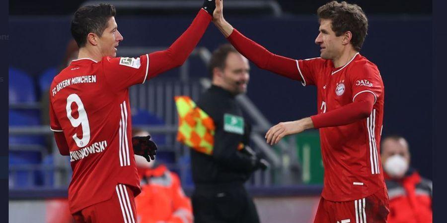 Hasil dan Klasemen Bundesliga - Lewandowski 500 Gol, Bayern Muenchen Kokoh di Puncak
