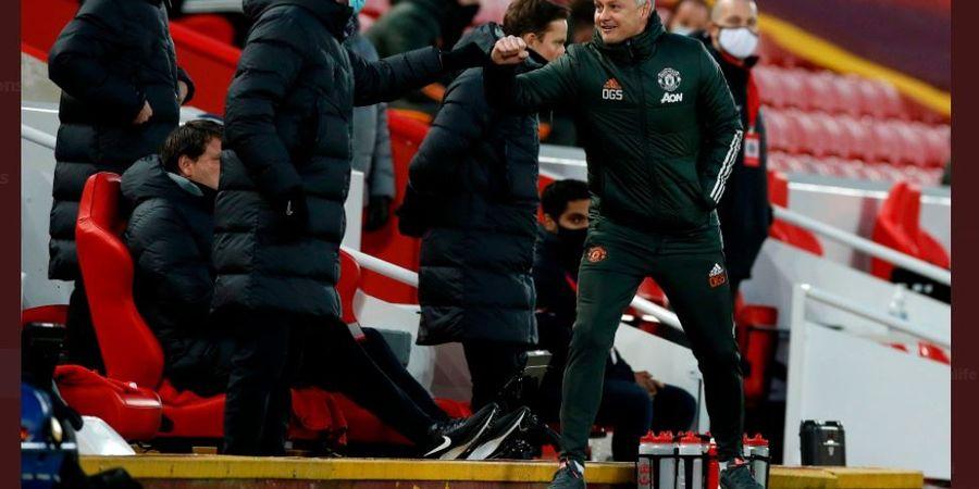 Man United Hajar Liverpool, Akhirnya Solskjaer Tumbangkan Klopp setelah Nunggu 2 Tahun