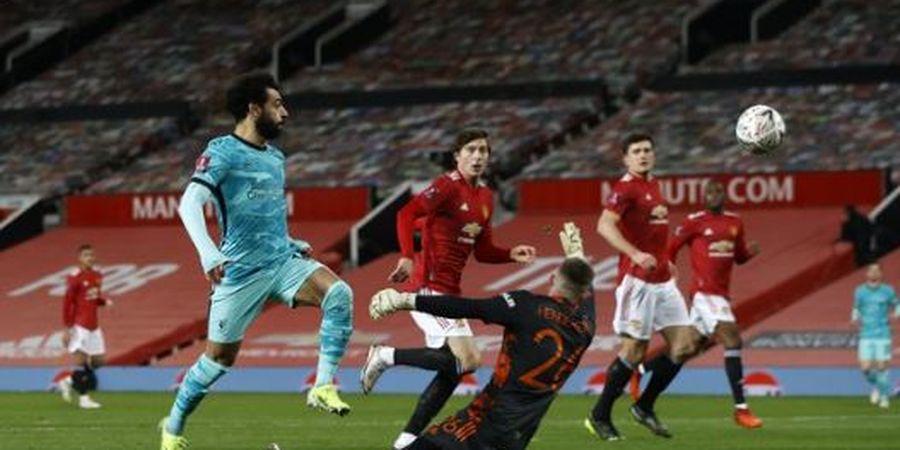 Nyelip di Antara Lindelof dan Shaw, Mohamed Salah Bobol Man United, Remaja 19 Tahun Membalas