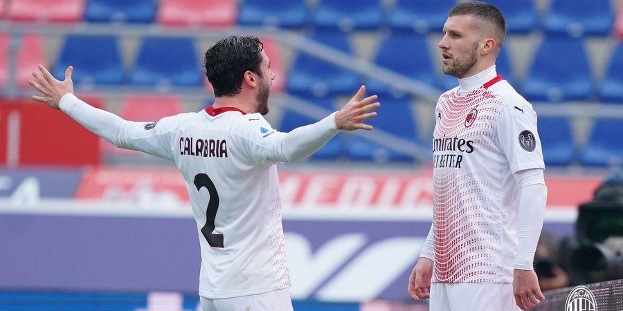 Susunan Pemain Torino vs AC Milan - Ante Rebic Ujung Tombak, AC Milan Bisa Resmi ke Liga Champions