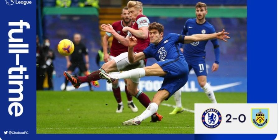 Hasil Liga Inggris - Chelsea Berikan Thomas Tuchel Kemenangan Perdana