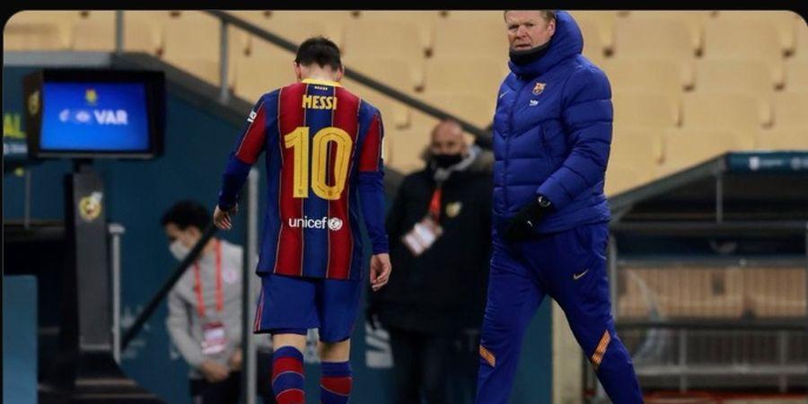 Pemain PSG Terus Ganggu Messi, Ronald Koeman Ngamuk! Begini Katanya