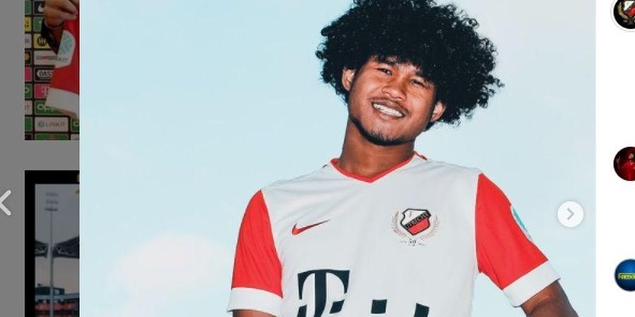 Bagus Kahfi Dapatkan Sepatu Pertama di FC Utrecht, Siap Cetak Gol Secepatnya