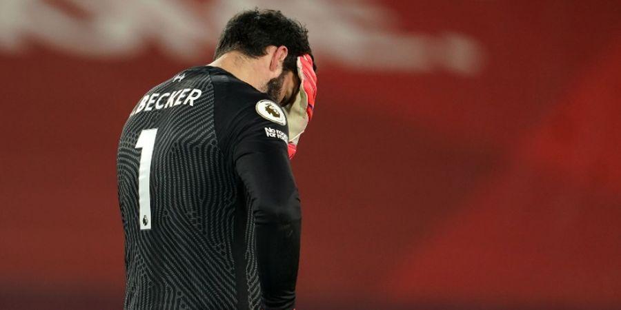 Hasil Liga Inggris - Alisson Blunder Lagi, Liverpool Telan Kekalahan