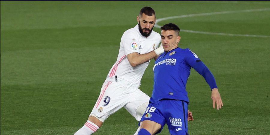 Getafe Nol Tembakan, Real Madrid Akhiri Babak Pertama dengan Skor Kacamata