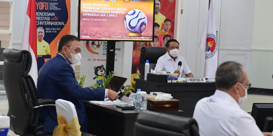 Rapat Koordinasi Bahas Liga 1 2021 Dijadwalkan Berlangsung Pekan Depan