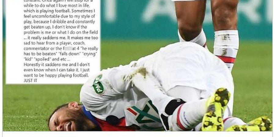 Dibilang Cengeng dan Tukang Diving, Neymar Marah-marah di Instagram
