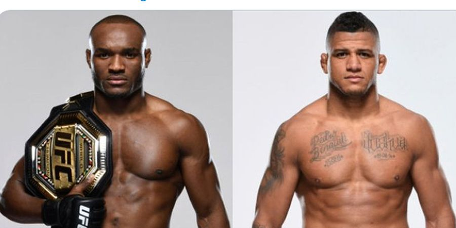 Jadwal UFC 258 - Kamaru Usman vs Gilbert Burns