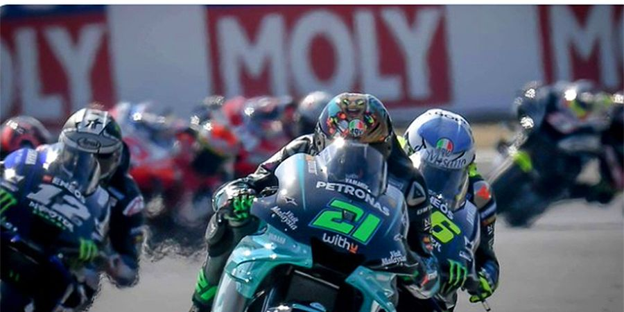 MotoGP Qatar 2021 - Andrea Dovizioso Cuma Punya 1 Kalimat untuk Valentino Rossi dan Franco Morbidelli