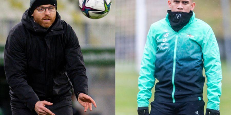 Fans Geruduk Egy Maulana Vikri dkk Saat Briefing Pelatih Lechia Gdansk