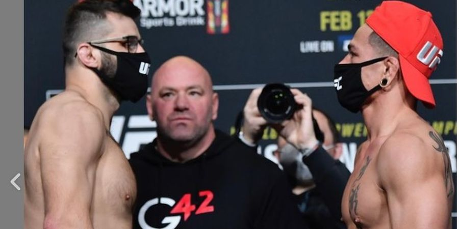 Hasil UFC 258 - Jagoan Veteran Kalah dengan Kuncian Krisis Misil Kuba