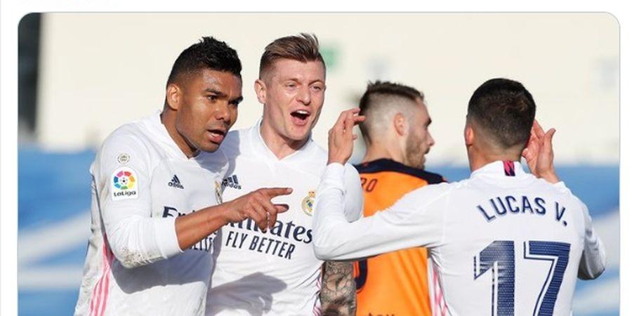 Real Madrid Vs Chelsea - Eden Hazard dan Toni Kroos Siap Tempur, Satu Bek Masih Menepi