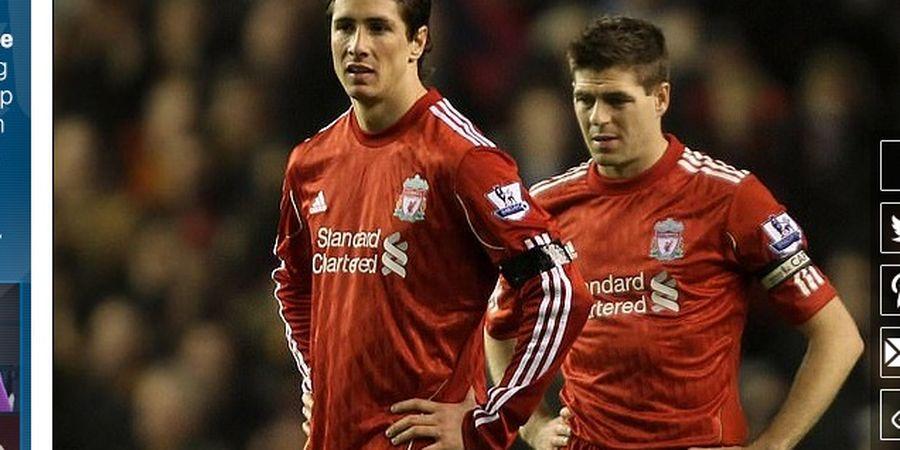 Steven Gerrard Ungkap Perasaannya ketika Ditinggal Fernando Torres