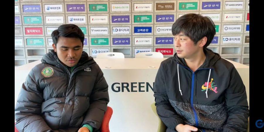 Gagal Cetak Gol Debut di Ansan Greeners, Asnawi Mangkualam Minta Netizen Tak Salahkan Rekannya