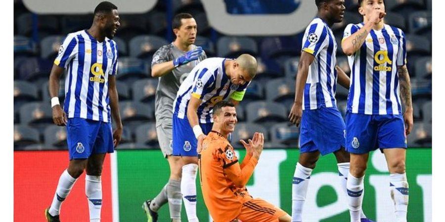 Ditaklukkan FC Porto, Statistik Cristiano Ronaldo Hancur-Hancuran