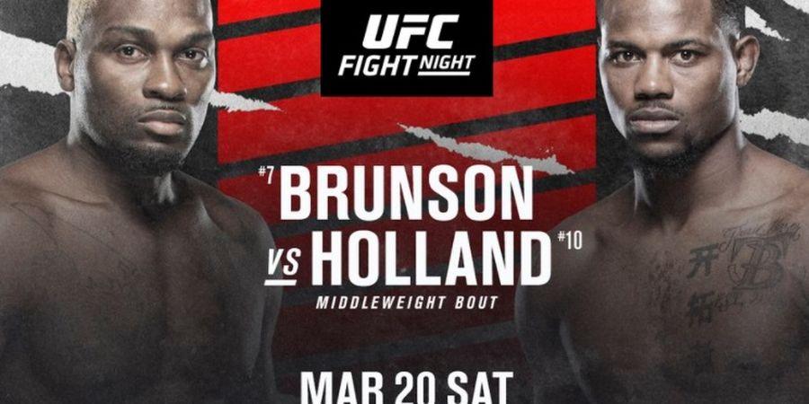 Jadwal UFC Vegas 22 - Derek Brunson vs Kevin Holland, Minggu Pagi WIB