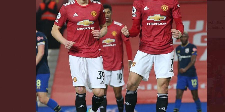Nikmati Hidup di Manchester United, Edinson Cavani Kirim Kode Keras Perpanjangan Kontrak?