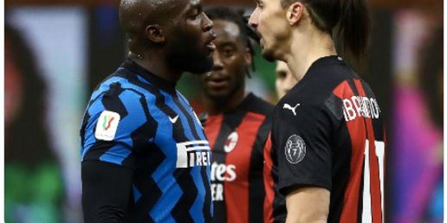 Inter Raih Scudetto, Lukaku Kembali Pancing Amarah Ibrahimovic