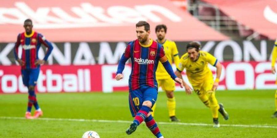 Bobol Gawang Cadiz, Lionel Messi Ancam Rekor Cristiano Ronaldo Sebagai Raja Gol Penalti