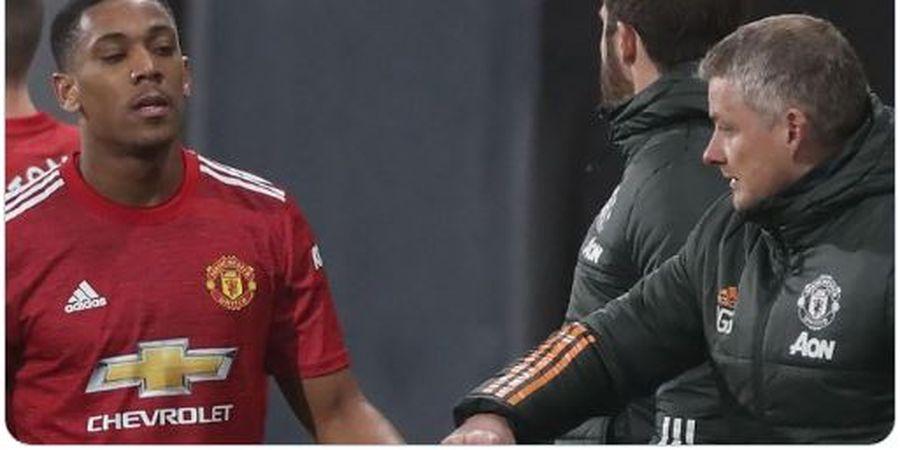 Anthony Martial Minim Gol di Man United, Alan Shearer Ungkap Sebabnya