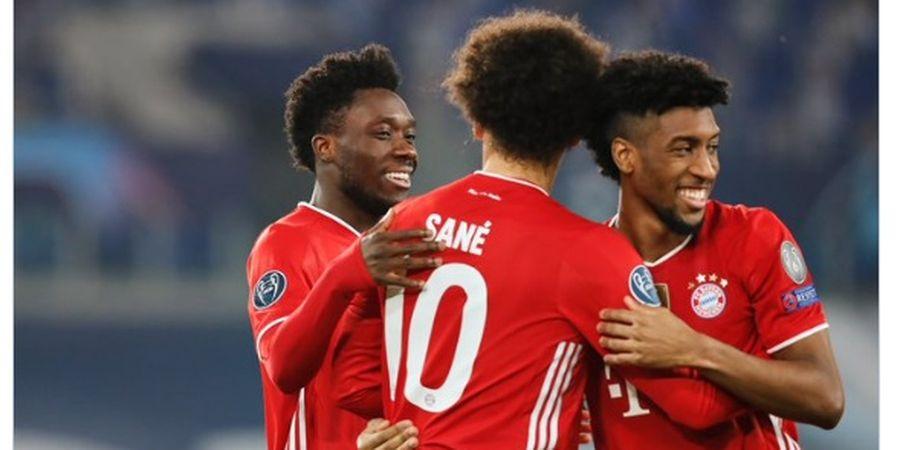 Hasil Liga Champions - Bantai Lazio 4-1, Bayern Muenchen Sah Jago Tandang