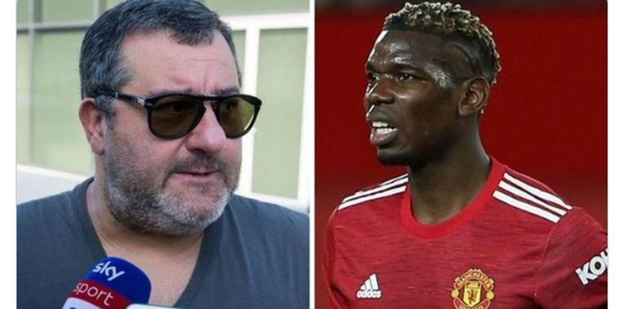 Komentarnya soal Paul Pogba Dituding Buat Manchester United Tak Stabil, Mino Raiola Beri Tanggapan