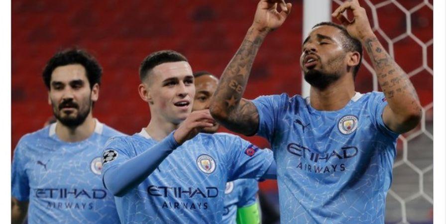 Hasil Liga Champions - Lanjutkan Tren Nirbobol, Manchester City Gilas Moenchengladbach 2-0