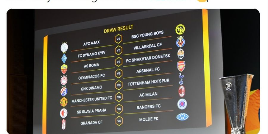 Hasil Drawing Liga Europa - Ibrahimovic Reuni dengan Man United