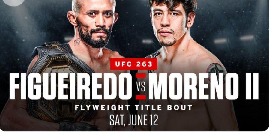 Penantang Lebih Agresif! UFC 263 Janjikan Duel Kelas Terbang Paling Brutal Lagi