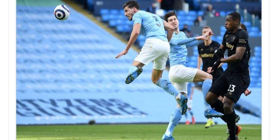 Hasil Babak I Manchester City Vs West Ham United - Tuan Rumah Ditahan Imbang 1-1