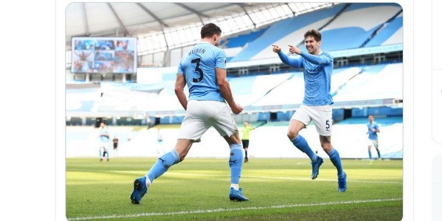 Hasil Liga Inggris - Kebobolan di Kandang setelah 629 Menit, Man City Tetap Menang