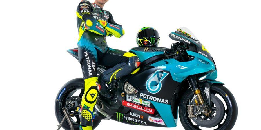 Ketika Valentino Rossi Tulis Surat Cinta untuk Motornya di Yamaha